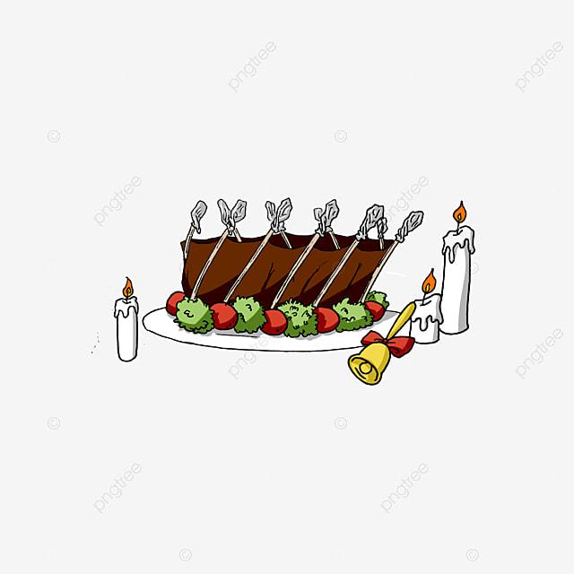Christmas Food Illustration Image, Food Clipart, Christmas ...