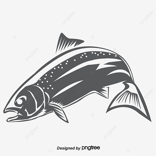 Fish illustration, Fishing Rod, Vector Fish, Fish PNG and Vector
