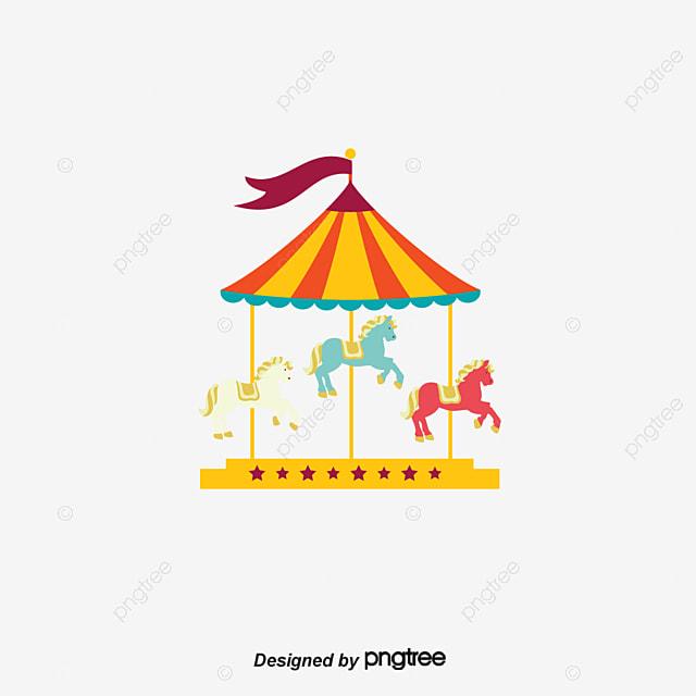 Carrousel Dessin de dessin vectoriel carrousel vecteur dessin carrousel png et