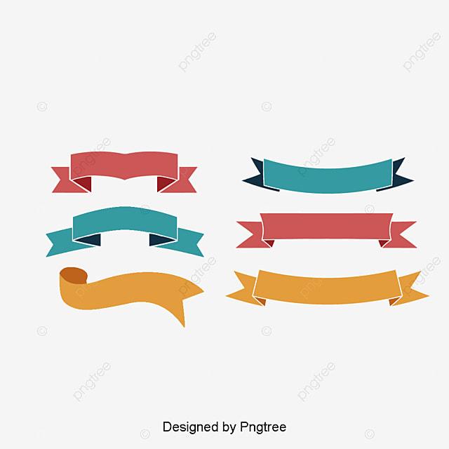 fashion design vector material ribbon tag classical ribbon banner rh pngtree com vector ribbon banner eps vector ribbon banner illustrator