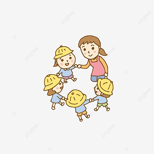 Kids Holding Hands, Kids Clipart, Paintings, Children PNG ...
