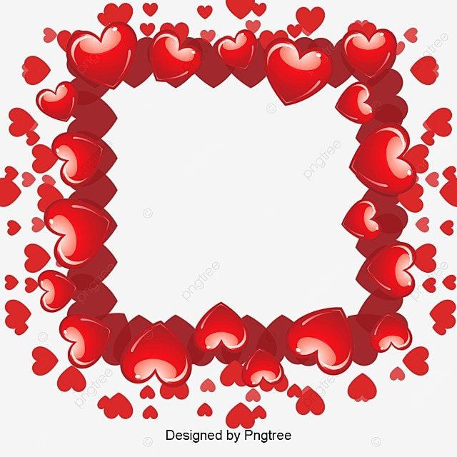 Heart-shaped Frame, Frame, Heart Shaped Frame, Creative Wedding PNG ...