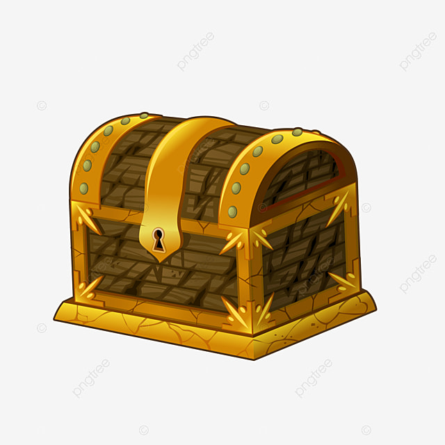 Pirate Treasure Chest Clipart PNG Image And