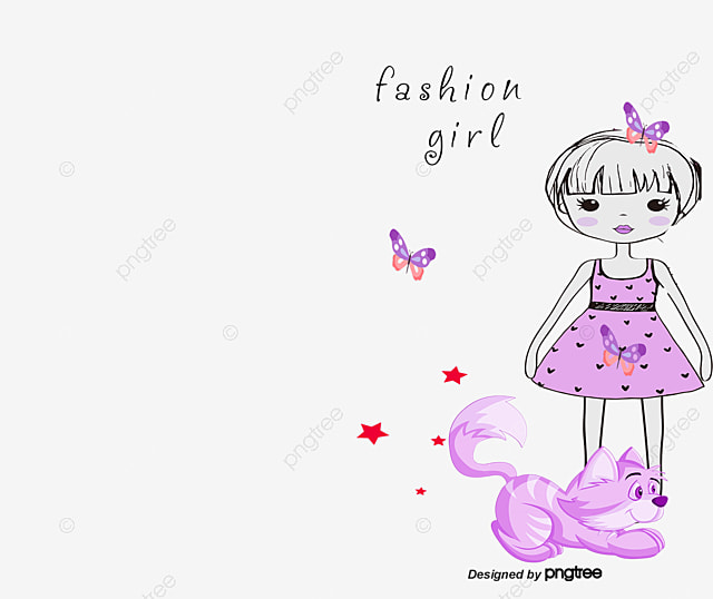 Chicas Lindas Lovely Cartoon Chicas Png Y Vector Para Descargar Gratis