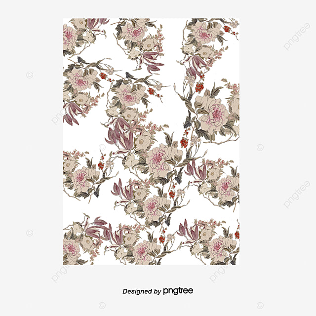 Black Flower Pattern Stock Images: Dark Floral Pattern Dress Patterns, Black Flowers, Floral