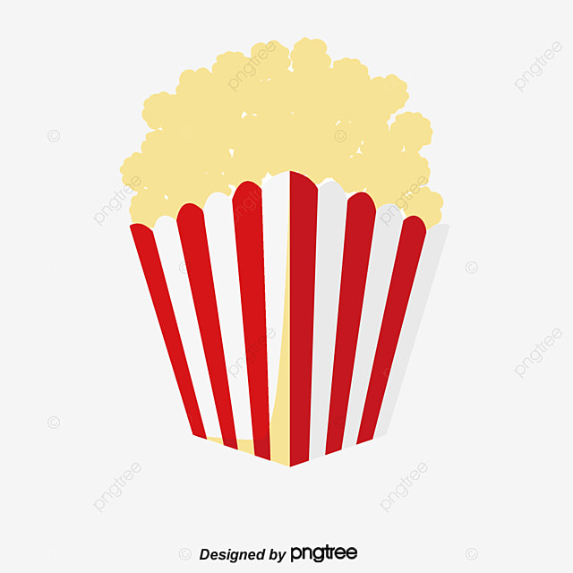 popcorn bucket food delicious popcorn png image and clipart for rh pngtree com