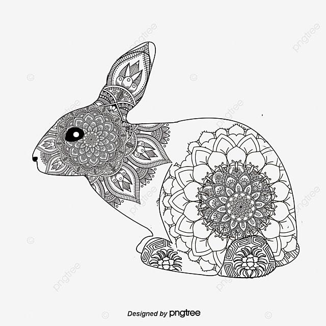 Animal vector material de dibujo lineal Historietas De Animales