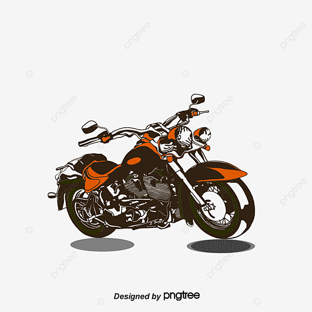 Vector Motorcycle Motorcycle Cartoon Motorcycle Png And