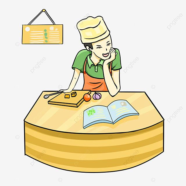 Mujer cocinando mujer chica la cocina imagen png para for Cocinar imagenes animadas