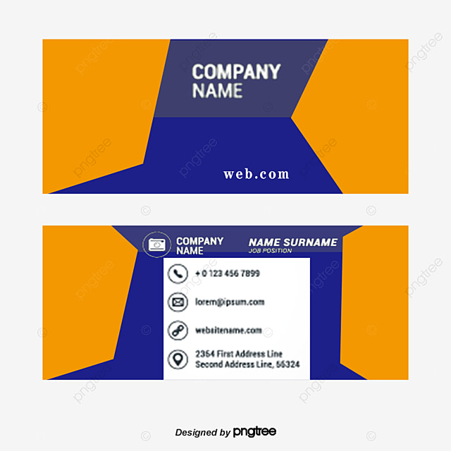 simple personal business cards