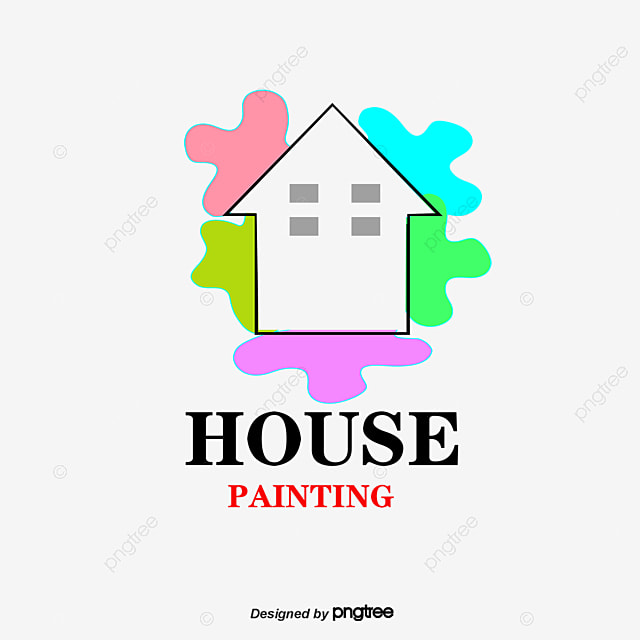 vector household logo household decoration paint png