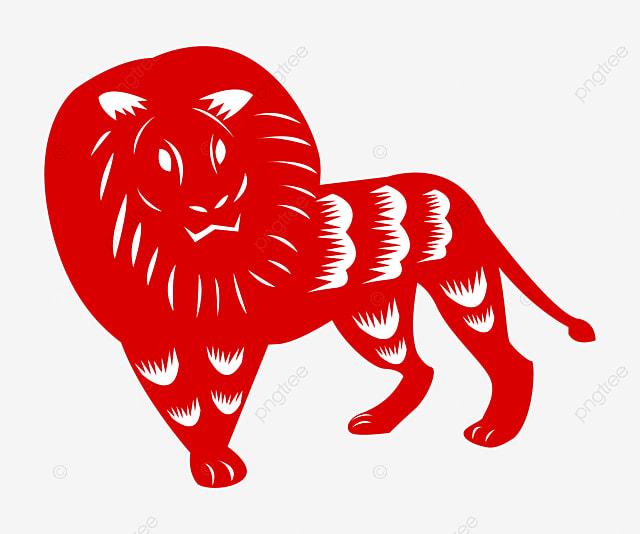 La Géométrie De Lion Géométrique Le Lion Débris Image Png Pour Le
