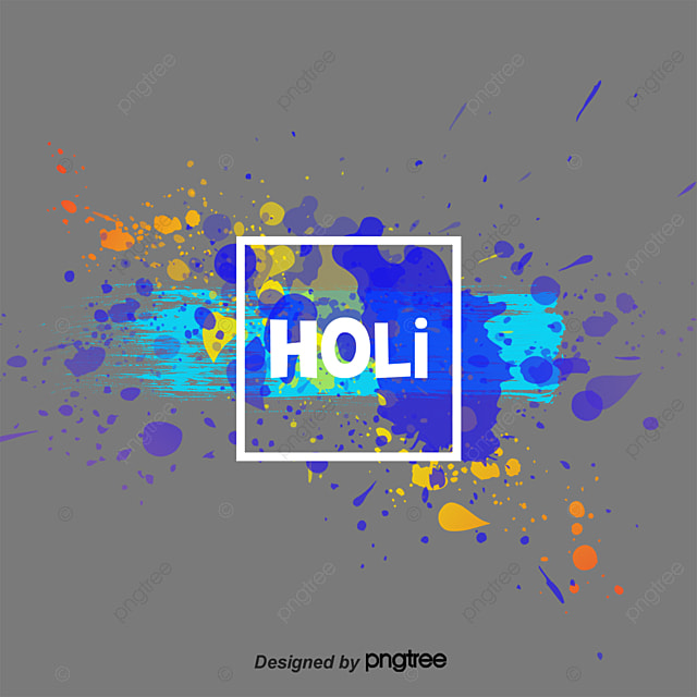 Beautiful Color Splash Background Ink PNG Image And