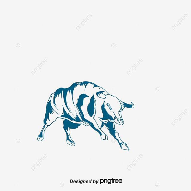 gorgeous silver blue bulls vector material silver blue bulls eps rh pngtree com blue bull logo beer blue bull logistics suffolk
