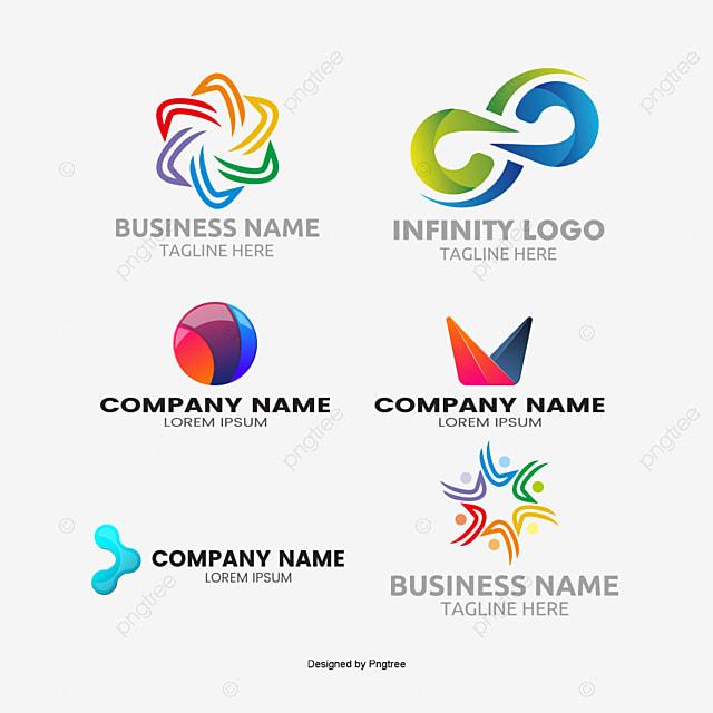 LOGO logo design vector Round, Mark, LOGO Design Material, Geometry PNG and Vector