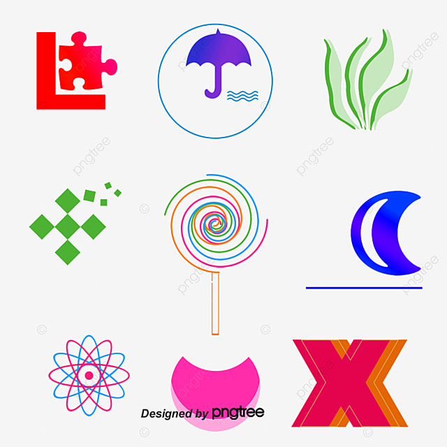 Polygon vector logo design LOGO, Mark, LOGO Design Material, Geometry PNG and Vector