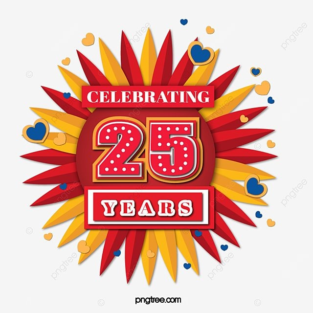 Image result for free clip art 25th Anniversary sale