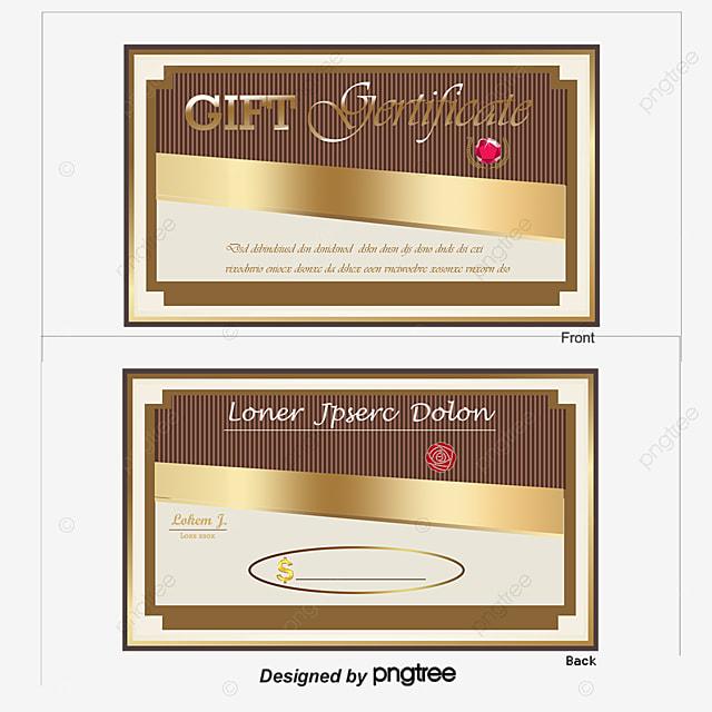 Bellamente Diseñado Cupón Tarjeta Vector Material, Cupones De ...