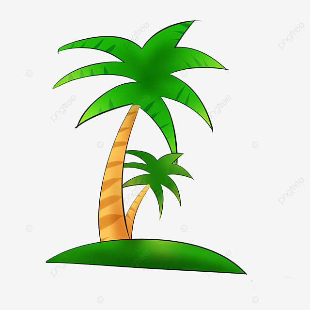 Coconut Tree Great Summer Banana Tree Png Image And