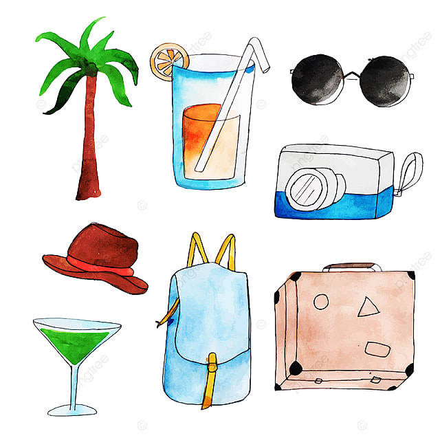 Travel Element, Travel Clipart, Travel, Tourism PNG ...