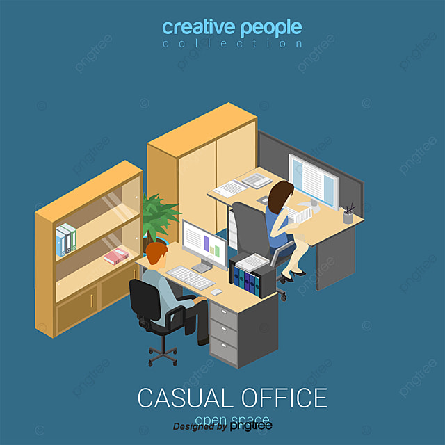 vector business office people business vector office