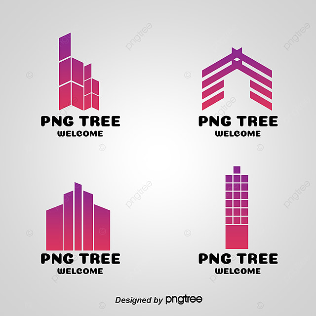 real estate company logo template flag icon creative
