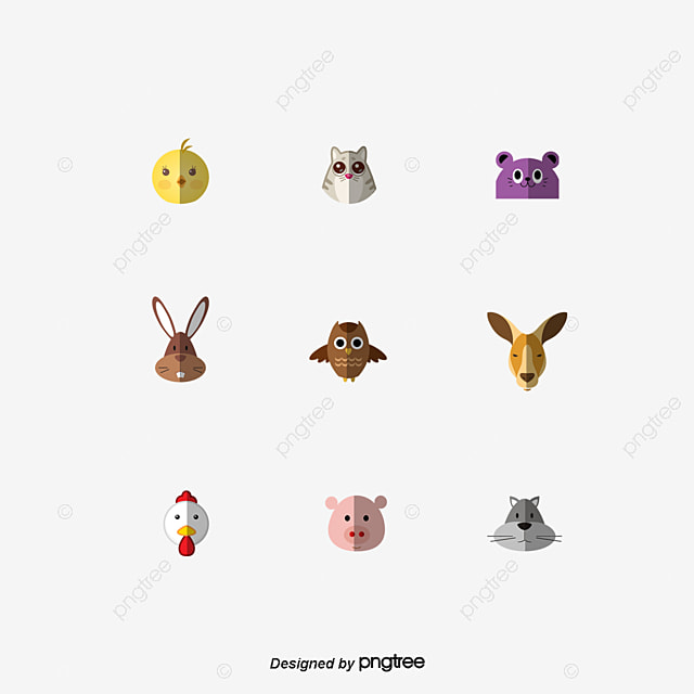 vecteur de dessin d animaux cartoon couleur animal png et