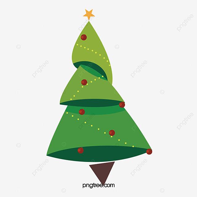 arbol de navidad vector de dibujos animados creative rboles star fruta roja libre png y vector - Dibujo De Arbol De Navidad