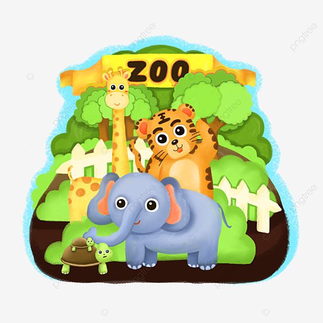 zoo  elephant  giraffe  zebra png image and clipart for free elephant clipart to color free elephant clipart to color