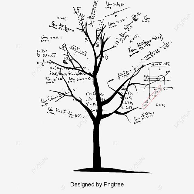 Vector Arbol De Matemáticas, Creative árboles, Dibujos De Arboles ...