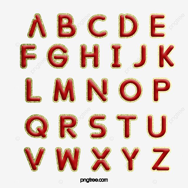 Conception De 26 Lettres De L Alphabet Anglais Alphabet Anglais