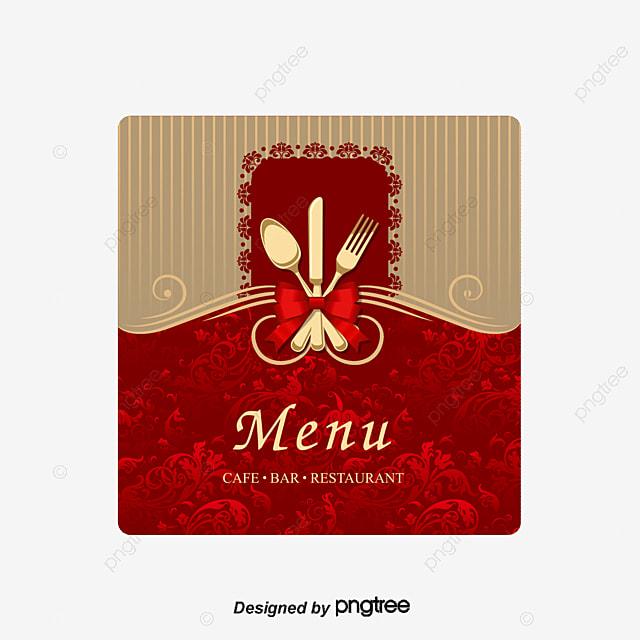 Vector Upscale Menu Cover Hotel Recipes Hotels Menu Menu Png And