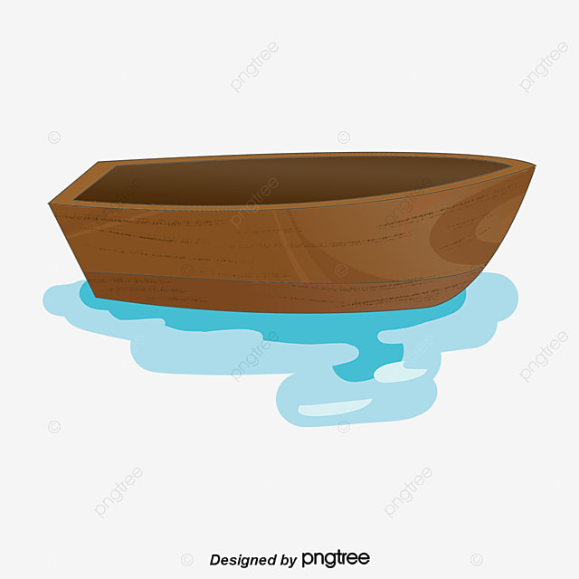 Boat Canoe Seawater Paddle PNG Image And Clipart