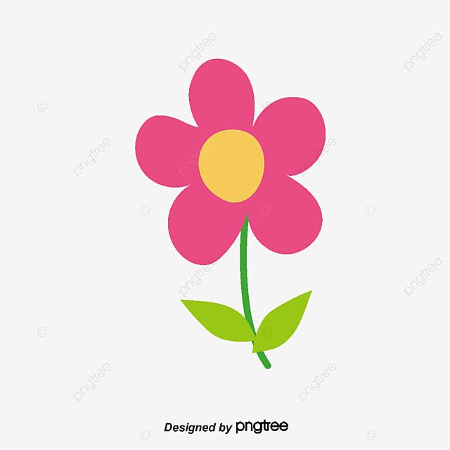 Vector De Dibujos De Ninos Rojo Flores Leaf Png Y Vector Para