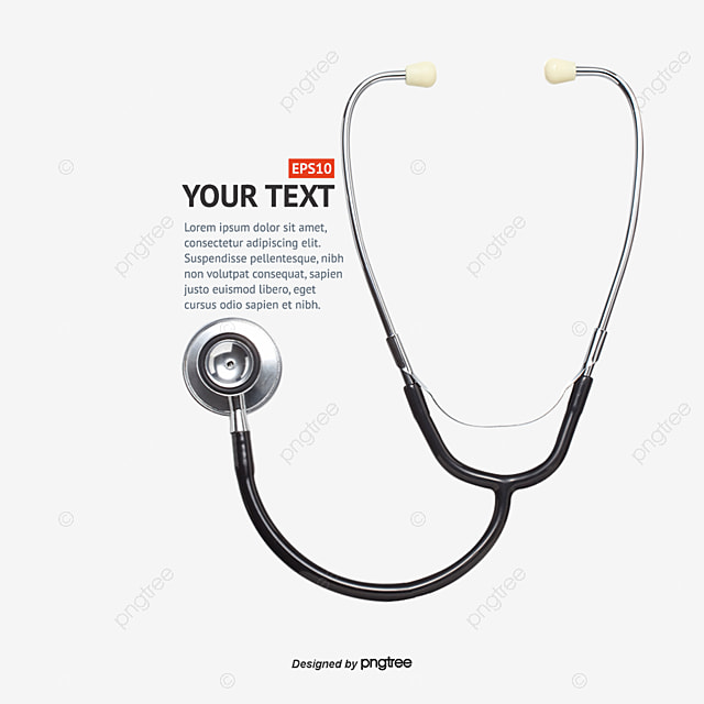 Stethoscope, Typesetting, Medical Tool PNG and Vector