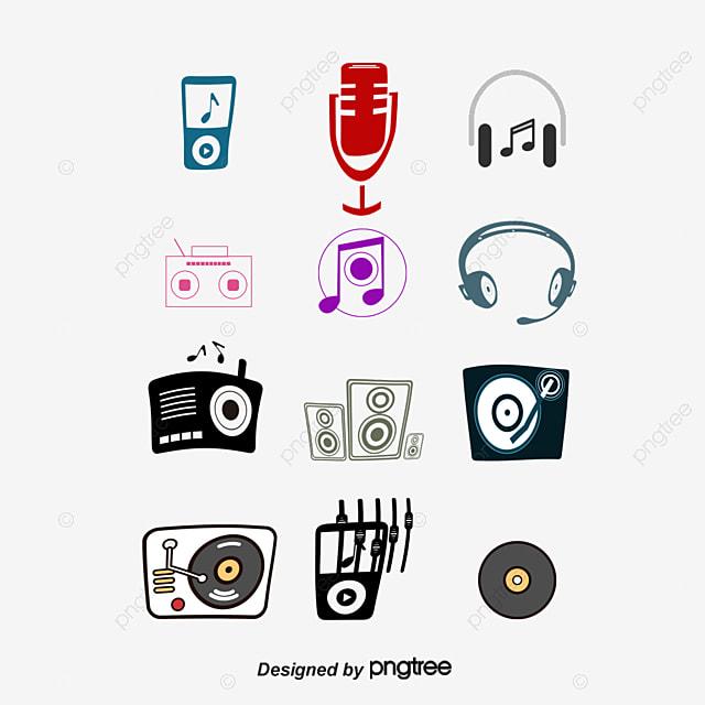 Blanco Y Negro Music Símbolos Signo Vector Vector Logo Mark Png Y