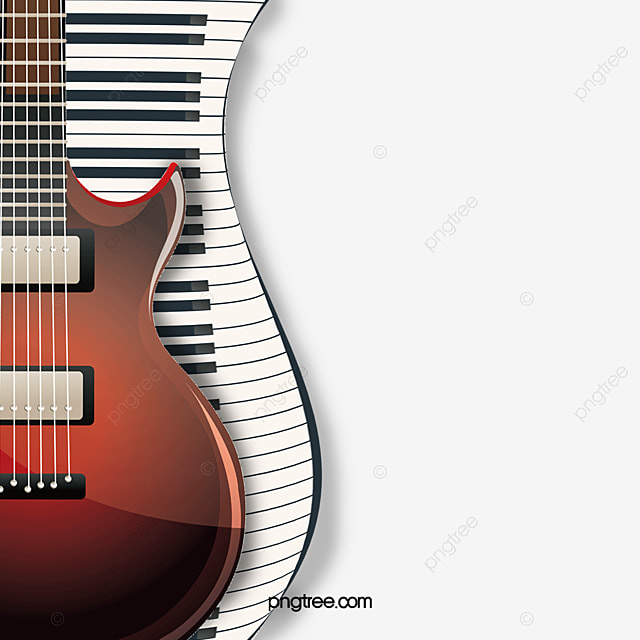fashion electric guitar and piano keyboard fashion electric guitar piano keyboard png and. Black Bedroom Furniture Sets. Home Design Ideas