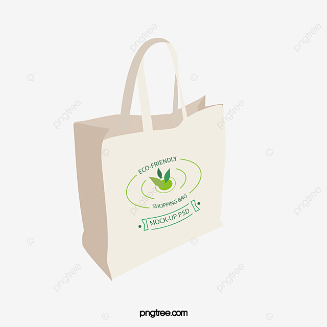 Eco Bag White Vector Png And Psd