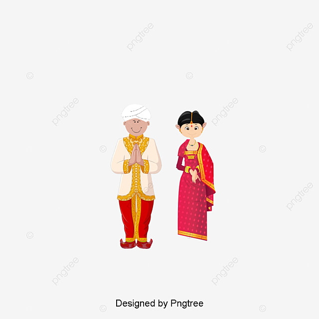 Traditional Indian Wedding Dress Indian Clipart Wedding Clipart