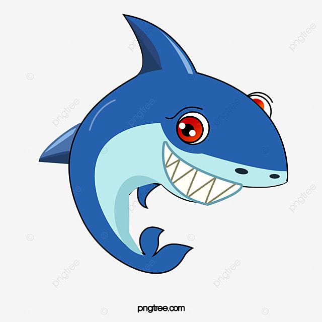 Shark, Shark Clipart, Big Shark, Cartoon Shark PNG