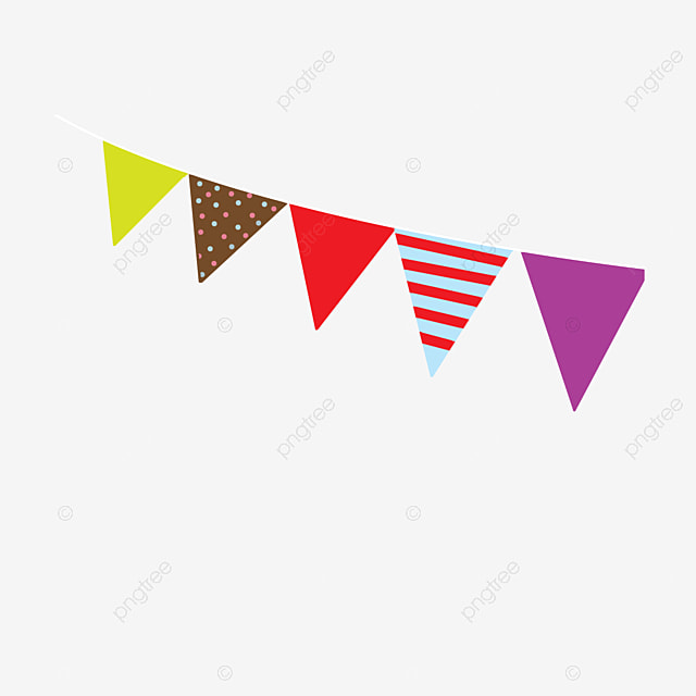 bunting triangle color banner png image and clipart for free download rh pngtree com bunting clip art black and white bunting clip art black and white