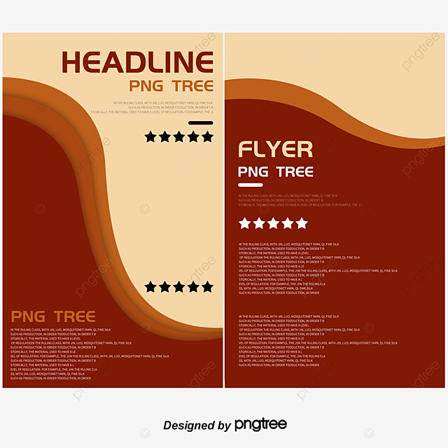 simple flyer design blue star geometry poster png and psd