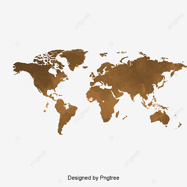 vector nostalgic coffee map world map vector map global map png and vector