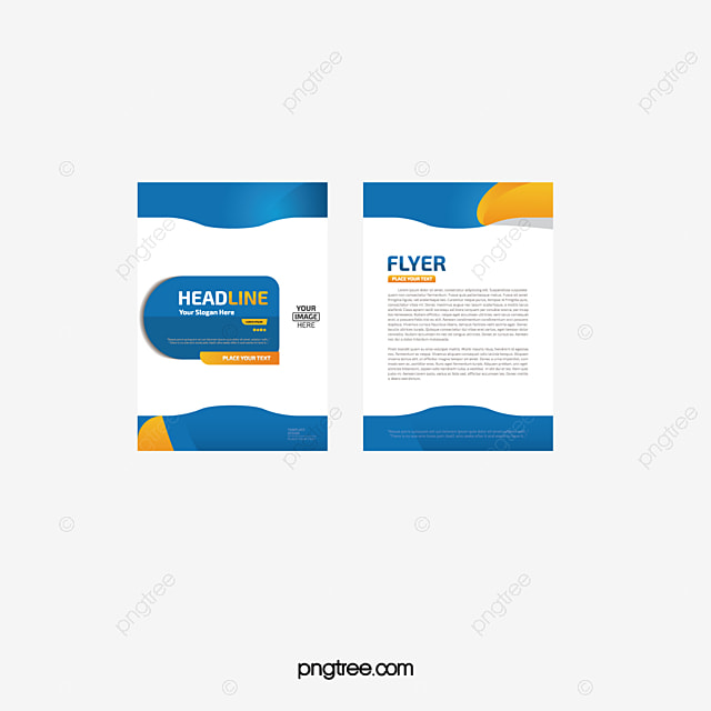 Vector Exquisite SinglePage Flyer Design Material Beautifully