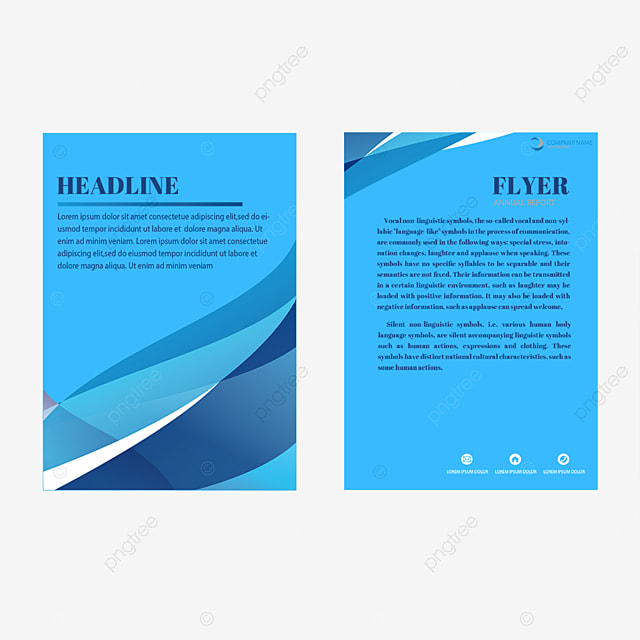 Vector Exquisite Single Page Flyer Design Material