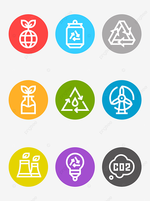 vector recycle icon green environmental protection recycle and re rh pngtree com