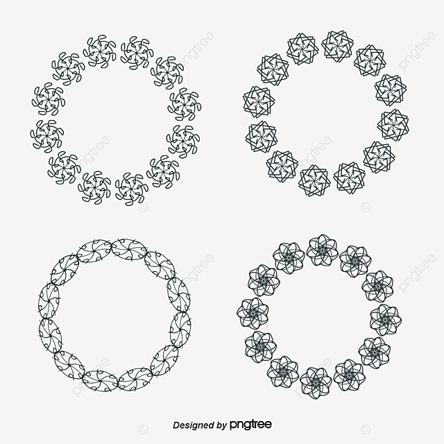 Vector Circle Border, Creative, Circles, Frame PNG and Vector for ...