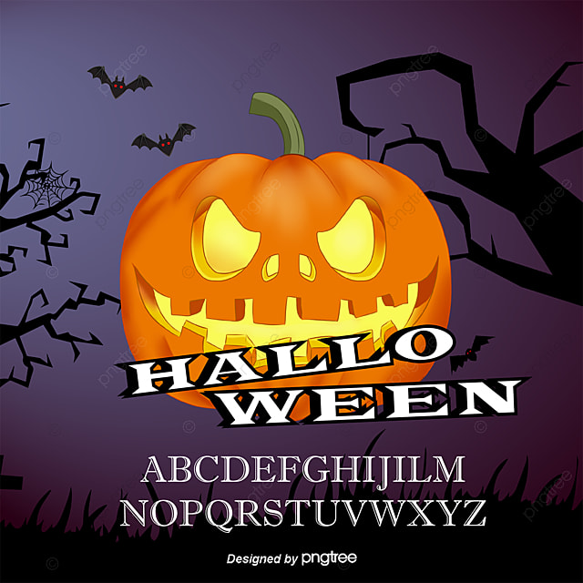 Vector Halloween pumpkin, Halloween Pumpkin, Halloween, Cartoon Halloween PNG and Vector