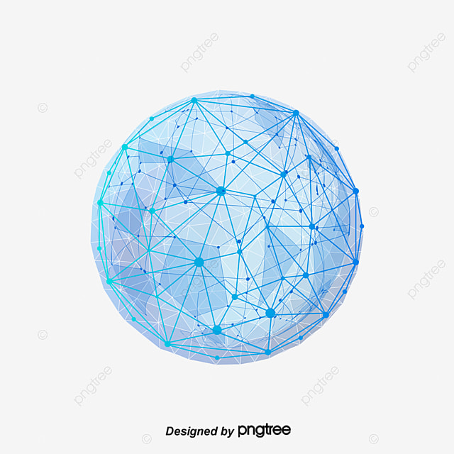 Vector blue sphere of Science and Technology, Blue Sphere Of Science And Technology, Science And Technology Sphere, Vector Science And Technology Sphere PNG and Vector