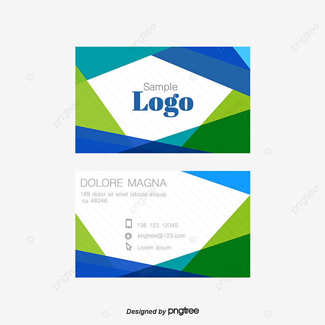 Creative business card template design geometry creative creative business card template design geometry creative personality advertising design png and psd wajeb Image collections